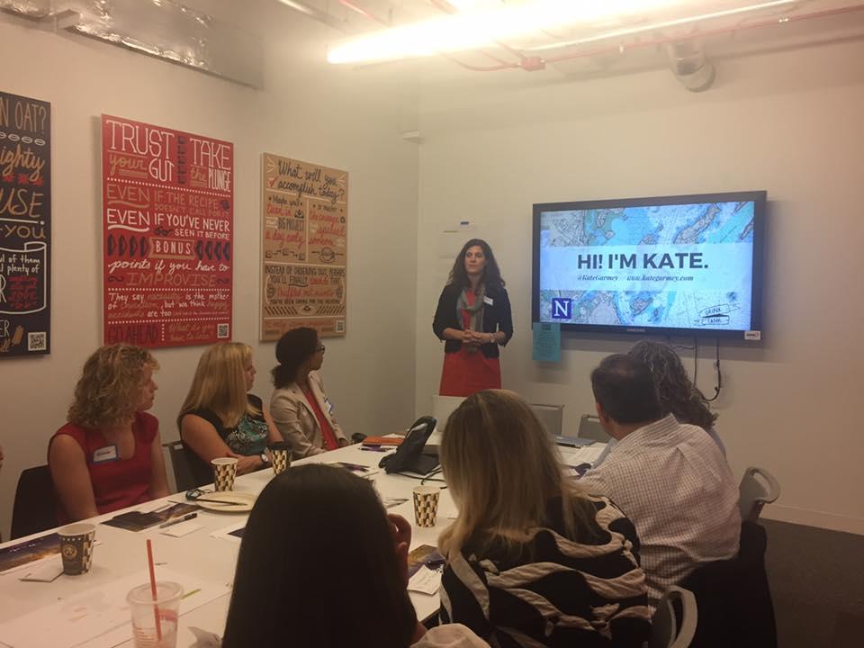 Kate Garmey spoke to use about CSR